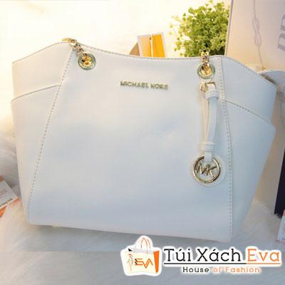 Túi Xách MK Chain F1 Màu Trắng Đẹp