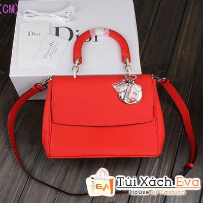 Túi Xách Dior Be Super Da Lì Màu Đỏ Đẹp