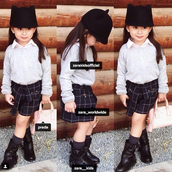 Choáng váng BST túi xách hàng hiệu của cô nhóc 4 tuổi