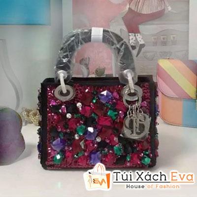 Túi Xách Dior Lady Mini Super Đính Đá Đẹp