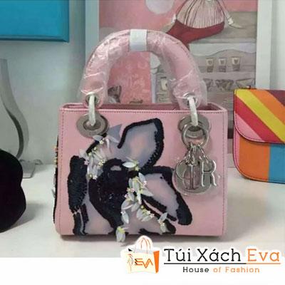 Túi Xách Dior Lady Mini Super In Hoa Đẹp