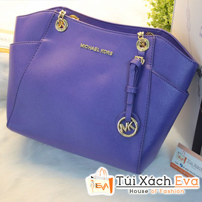 Túi Xách MK Chain F1 Màu Xanh Cobalt Đẹp