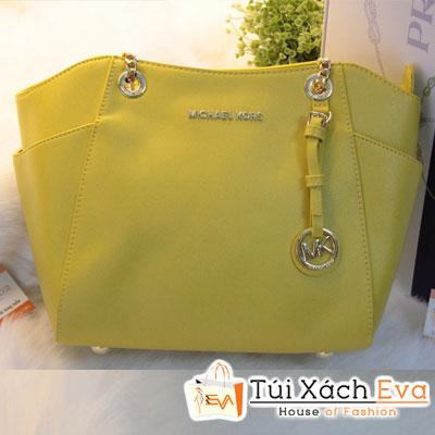 Túi Xách MK Chain F1 Màu Vàng Đẹp