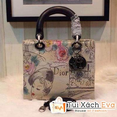 Túi Xách Dior Lady Super In Hình Cô Gái Đẹp