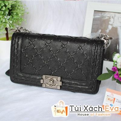 Túi Xách Chanel Boy Siêu Cấp Màu Đen Đẹp