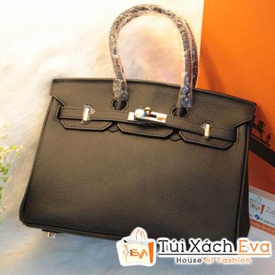 Túi Xách Hermes Birkin Super Sale Màu Đen Da ToGo Size 25 Đẹp