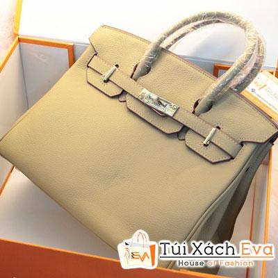 Túi Xách Hermes Birkin Super Sale Màu Xám Da ToGo Size 30 Đẹp