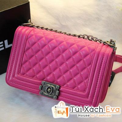 Túi Xách Chanel Boy Super Sale Màu Hồng Sen Đẹp