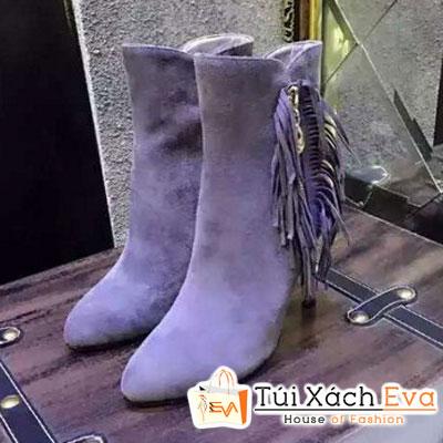 Giày Boot Cao Qua Mắc Cá Chân Dior Đẹp