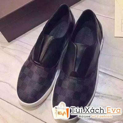 Giày Louis Vuitton Caro Đen Đẹp
