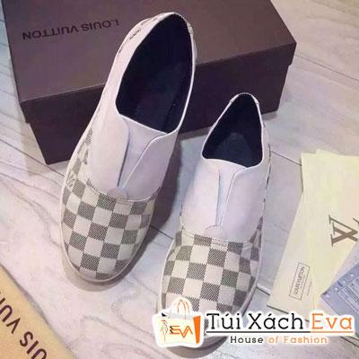 Giày Louis Vuitton Caro Trắng Đẹp