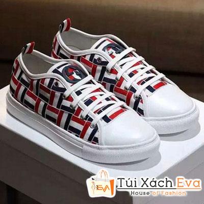 Giày Gucci Bata Đan Màu Đỏ Đẹp