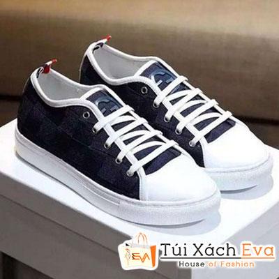 Giày Gucci Bata Đan Màu Xanh Đen Đẹp