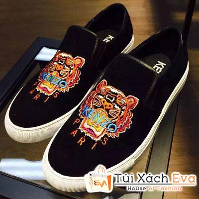 Giày Kenzo Flat Màu Đen Đẹp