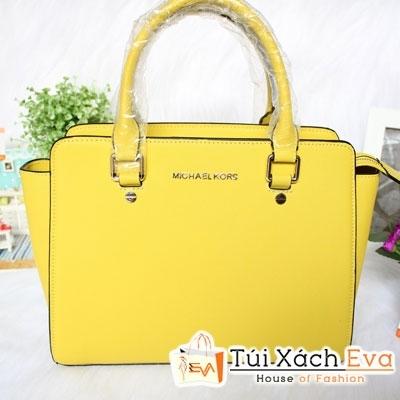 Túi Xách MK Selma Super Sale Màu Vàng Đẹp