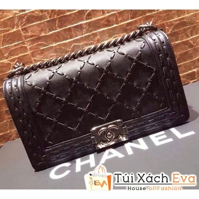 Túi Xách Chanel Boy Super Màu Đen Đẹp.