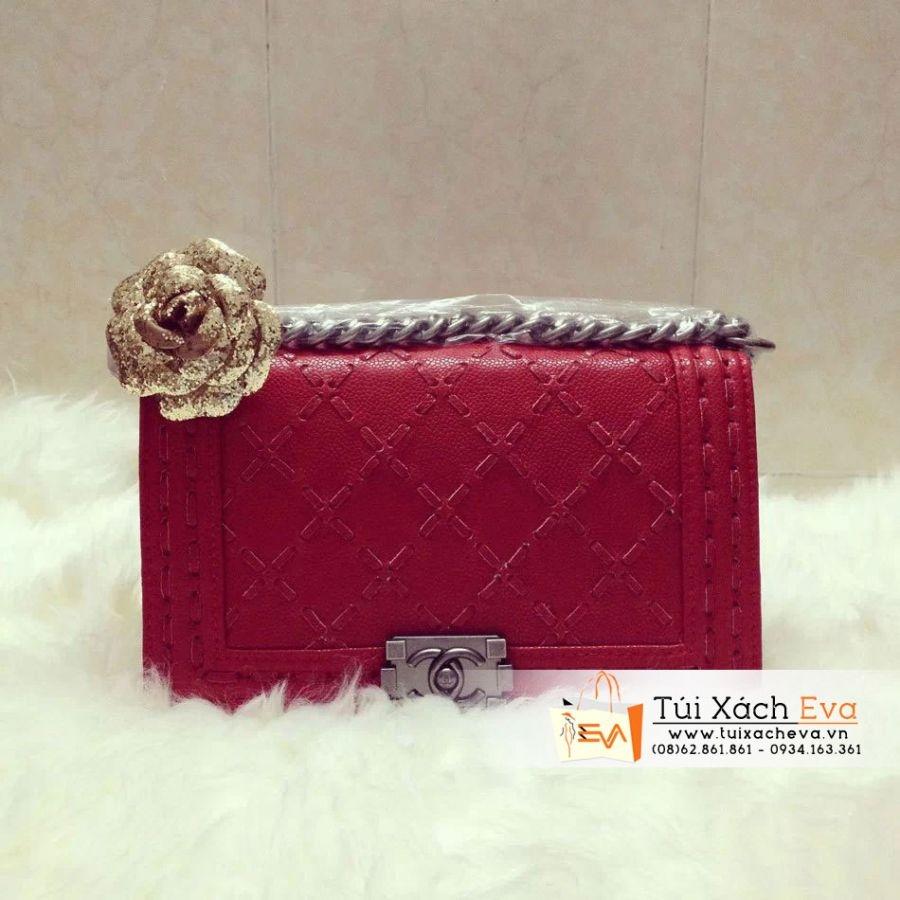 Túi Xách Chanel Boy Super Màu  Đỏ Đẹp