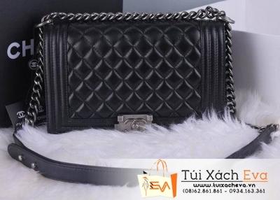 Túi Xách Chanel Boy Màu Đen Cổ Điển Đẹp