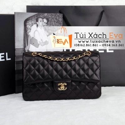 Túi Xách Chanel Classic Màu Đen Khóa Vàng Siêu Cấp  Đẹp
