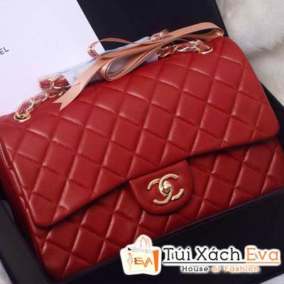 Túi Xách Chanel Classic Siêu Cấp Màu Đỏ Đẹp