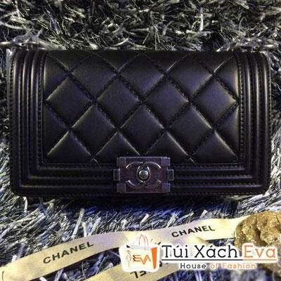 Túi Xách Chanel Boy Siêu Cấp 2014 Màu  Đen Đẹp