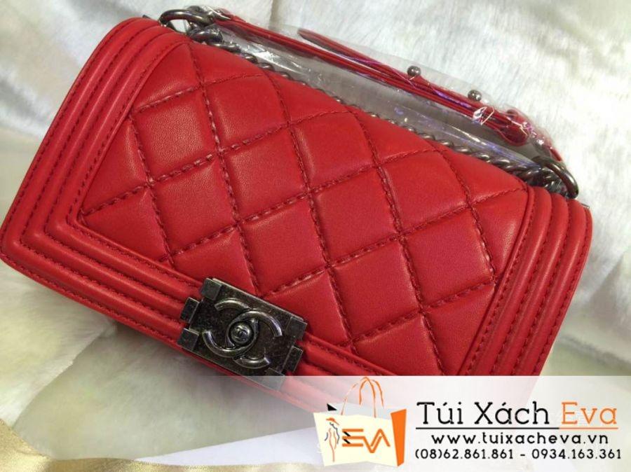 Túi Xách Chanel Boy Siêu Cấp 2014 Màu Đỏ Đẹp.