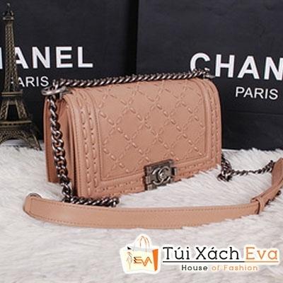 Túi Xách Chanel Boy Siêu Cấp Màu Nâu Đẹp