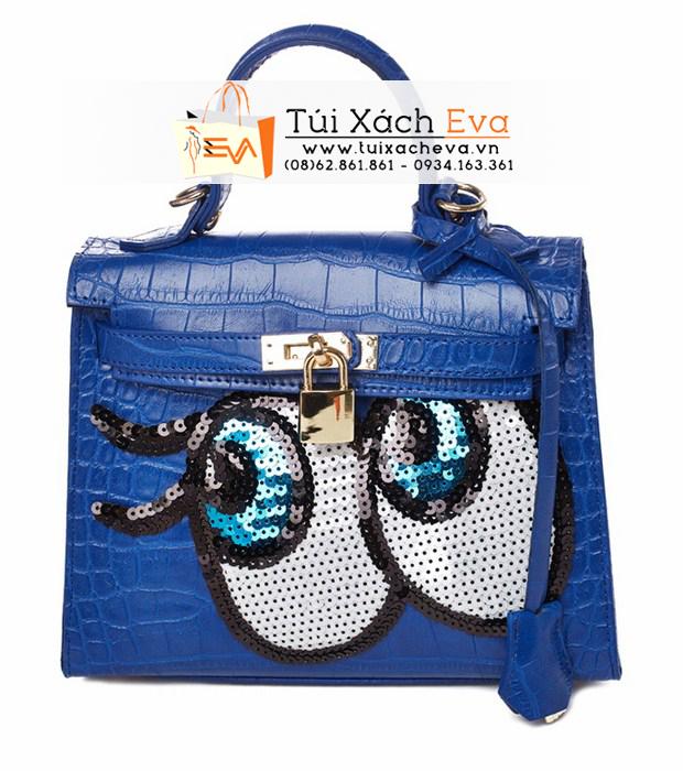 Túi xách Shy Girl F1 Màu Xanh Cobalt Đẹp