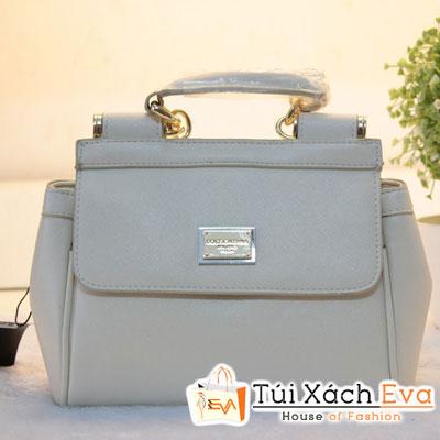 Túi Xách D&G Fake1 Màu Kem Đẹp