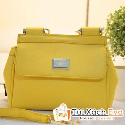 Túi Xách D&G F1 Màu Vàng Đẹp