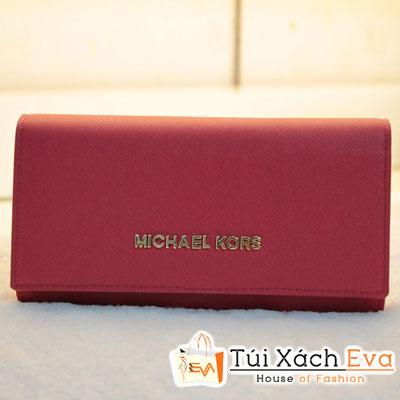 Ví Nữ Michael Kors Fake1 Màu Đỏ Đẹp