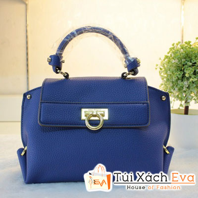 Túi Xách Salvatore F1 Màu Xanh Cobalt Đẹp