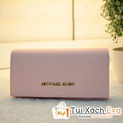 Ví Nữ Michael Kors Fake1 Màu Hồng Phấn Đẹp