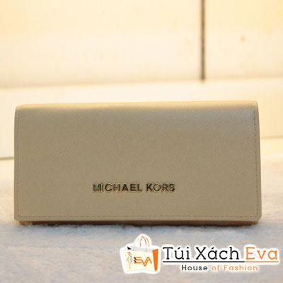 Ví Nữ Michael Kors Fake1 Màu Kem Đẹp