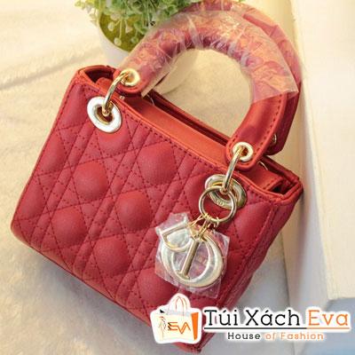 Túi Xách Dior Lady Mini F1 Màu Đỏ Đẹp