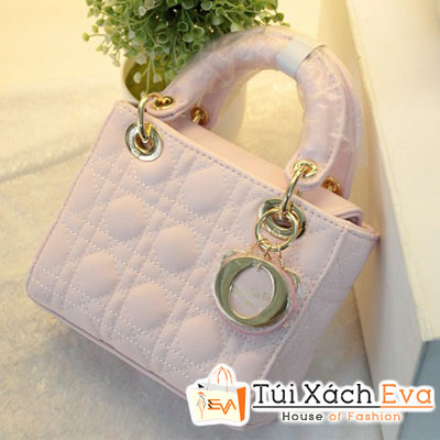 Túi Xách Dior Lady Mini F1 Màu Trắng Đẹp