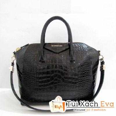 Túi Xách Givenchy Super Màu Đen Da Rắn Size 29 Đẹp