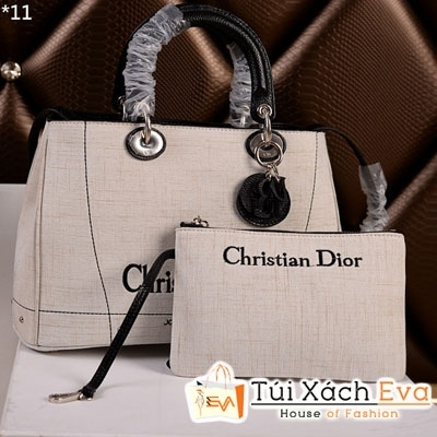 Túi Xách Dior Ressimo Super Màu Kem Đẹp