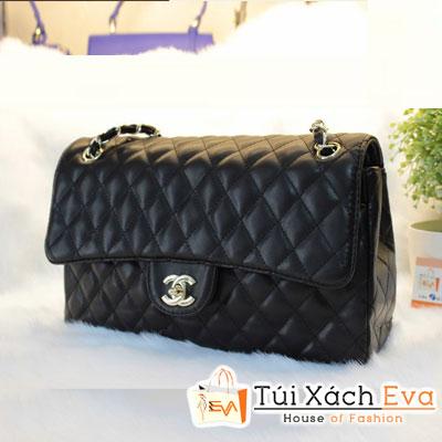 Túi Xách Chanel Classic Màu Đen Da Lì F1 Đẹp