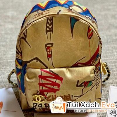 Balo Chanel Backpacks Siêu Cấp Màu Vàng