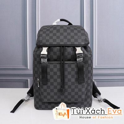 Balo Lv Backpack Siêu Cấp Ô Đen Sz 22Cm M443422