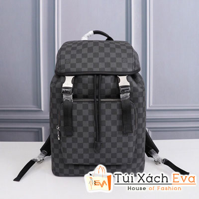 Balo Lv Backpack Siêu Cấp Ô Đen Sz 45 Cm M443422