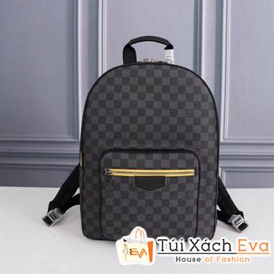 Balo Lv Josh Backpack Siêu Cấp Ô Đen Khóa Kéo Màu  N40085