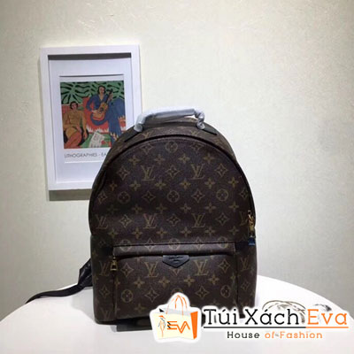 Balo Lv Monogram  Backpack Super Hoa Nâu