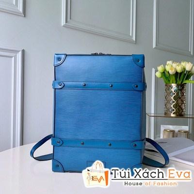 Balo Lv Tăm Backpack Backpack Alvm2188 Siêu Cấp Màu Xanh