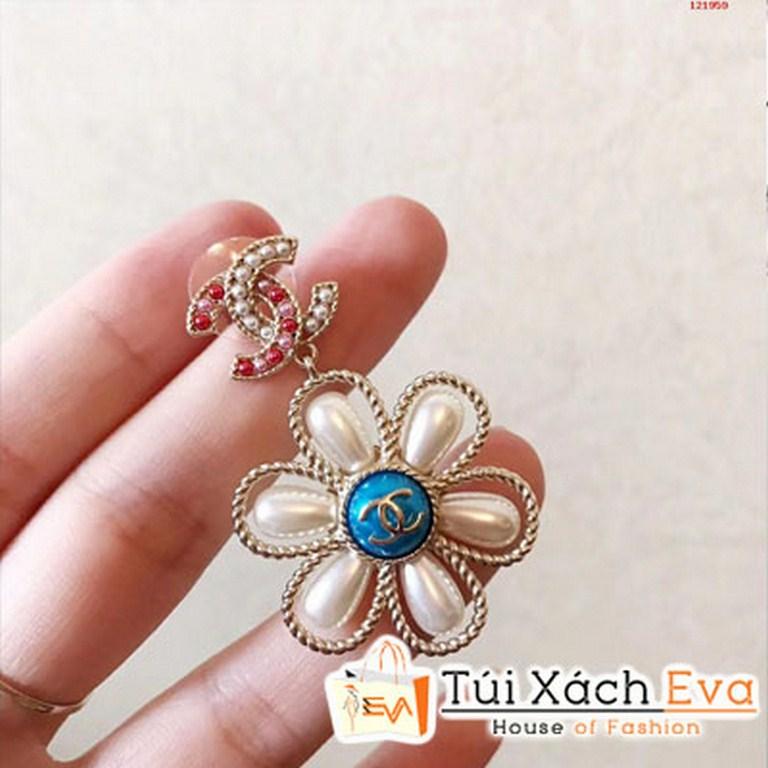 Bông Tai Chanel Hình Bông Hoa