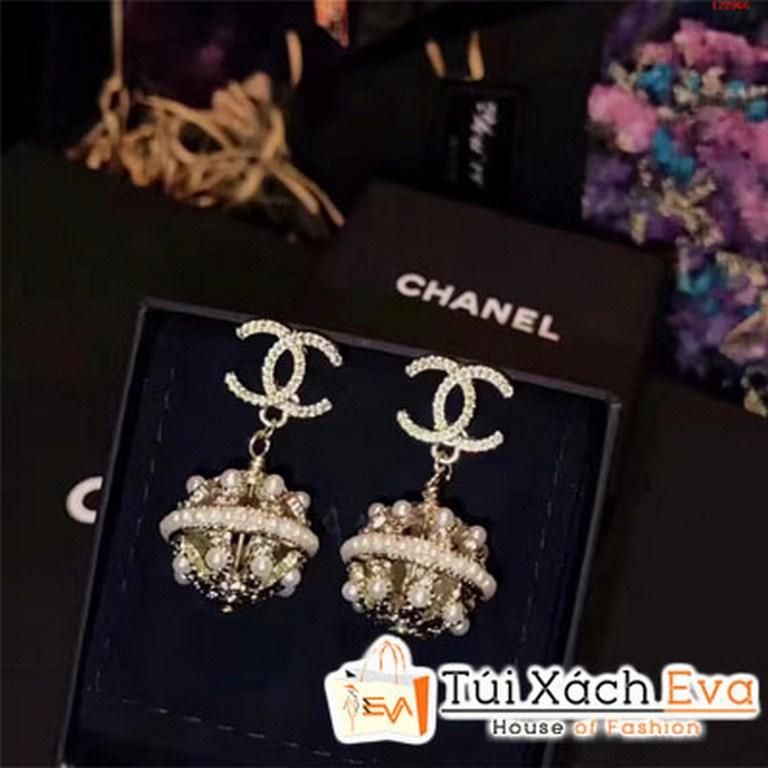 Bông Tai Chanel Qủa Cầu