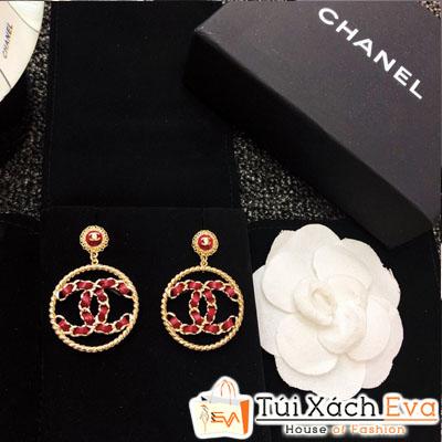 Bông Tai Chanel Super 2018 Tròn