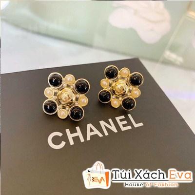 Bông Tai Chanel Super Bông Hoa Vàng