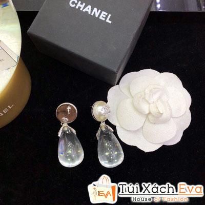 Bông Tai Chanel Super Giọt Nước Trong